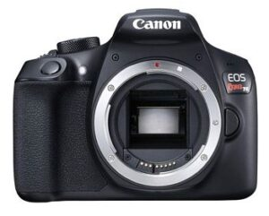 Canon EOS Rebel T6 - best dslr camera under 500 dollars