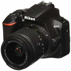 Nikon D3500 W/ AF-P DX NIKKOR - best dslr camera under 500 dollars
