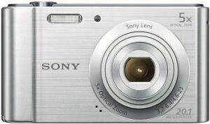Sony (DSCW800) - best point and shoot camera under 100 usd
