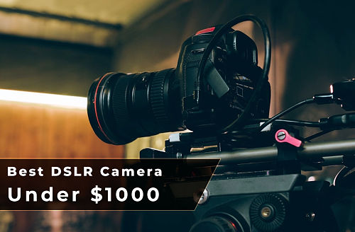 Photo of Top 10 Best DSLR Camera under $1000 [February 2021]