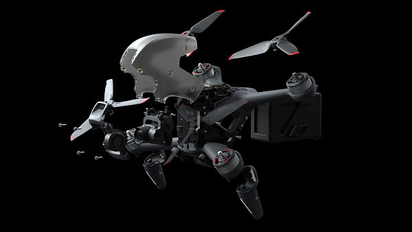 DJI FPV review replaceable parts