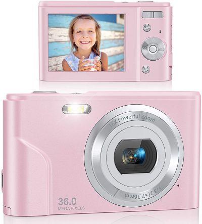 Best Vlogging Camera For Kids Lecran FHD 1080P