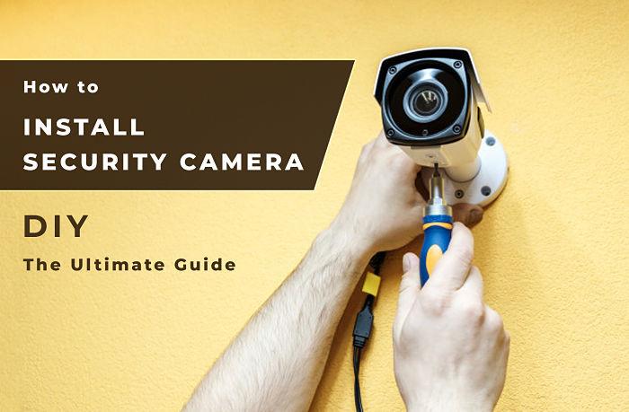 Security camera installation