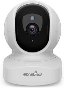 Wireless Security Camera System With Remote Viewing